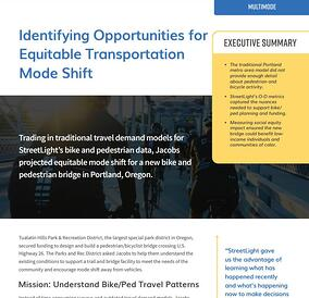 Identifying opportunities for bike ped modes_case study image